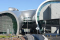 Dublin airport modern building at the in ireland Royalty Free Stock Image