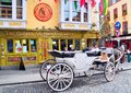 Dublin City Temple Bar District Royalty Free Stock Photo