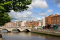 Dublin Cityscape Royalty Free Stock Photo