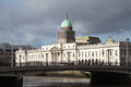 Dublin custom house Royaltyfria Bilder