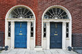 Dublin doors Royalty Free Stock Photo