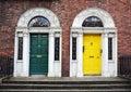 Dublin doors Royalty Free Stock Photo