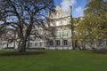 Dublin january trinity college on january dublin Stock Photos
