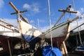 Dublin Yachts Royalty Free Stock Image