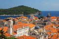 Dubrovnik adriatic sea croatia Stock Photography