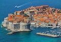 Dubrovnik adriatic sea croatia Stock Photography