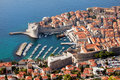 Dubrovnik Aerial View Royalty Free Stock Photography