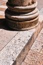 Dubrovnik. Base of column
