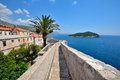 Dubrovnik city wall Royalty Free Stock Photo