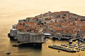 Dubrovnik in Croatia Stock Photography