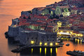 Dubrovnik in croatia view of an old city of Stock Photo