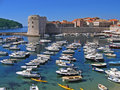 Dubrovnik harbor Stock Photos