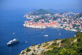 Dubrovnik old town croatia jewel of the adriatic Royalty Free Stock Images
