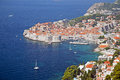 Dubrovnik old town croatia jewel of the adriatic Stock Image