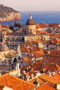 Dubrovnik Old Town roofs Stock Photography
