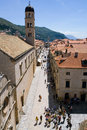 Dubrovnik Placa Stock Photography