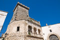Ducal castle ceglie messapica puglia italy of Stock Photo