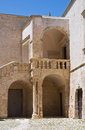 Ducal castle ceglie messapica puglia italy of Royalty Free Stock Images