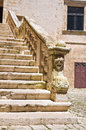 Ducal castle ceglie messapica puglia italy detail of of Royalty Free Stock Photos