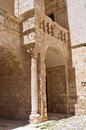Ducal castle ceglie messapica puglia italy detail of of Royalty Free Stock Images