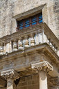 Ducal palace of Castromediano-Limburg. Cavallino. Puglia. Italy. Royalty Free Stock Photography