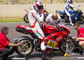 Ducati 1098R - Trofeo Ialiano Amatori Royalty Free Stock Photos