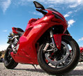 Ducati motorcycle Stock Photos