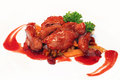 Duck Dish Royalty Free Stock Photo