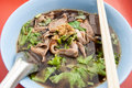 Duck noodle food Stock Photos