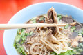 Duck noodle food Royalty Free Stock Photos