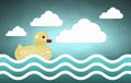 Duck toy Royalty Free Stock Photo
