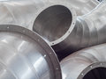 Ducting parts Royalty Free Stock Photo