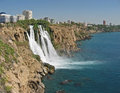 Duden waterfalls Royalty Free Stock Photo