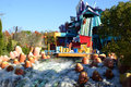 Dudley Do-Right's Ripsaw Falls Stock Photo