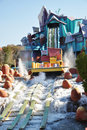 Dudley Do-Right's Ripsaw Falls, Universal Orlando Stock Photography