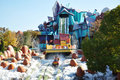 Dudley Do-Right's Ripsaw Falls in Universal Studios, FL, USA Royalty Free Stock Photo