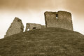 Duffus Castle Royalty Free Stock Photography