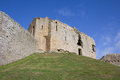 Duffus castle morayshire scotland regarded as one of the finest examples of a motte and bailey in scotland Royalty Free Stock Photos