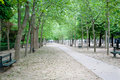 Du法国jardin卢森堡巴黎 库存照片