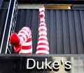 Duke cinema located upstairs in the famous komedia comedy club which has been successfully used over the years by the brighton Royalty Free Stock Photography