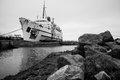 The duke of lancaster ferry has seen better days Stock Photos