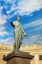Duke Richelieu monument in Odessa Ukraine Royalty Free Stock Photo