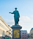 Duke Richelieu statue, Odessa Royalty Free Stock Photo