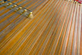 The dulcimer strings Stock Images