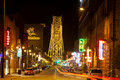 Duluth Nightlife Royalty Free Stock Photo