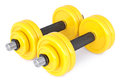 Dumbbells Royalty Free Stock Photo
