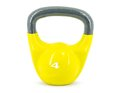 Dumbell yellow dumbel of kg Royalty Free Stock Photo