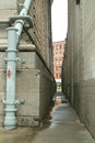 DUMBO Passageway Brooklyn New York City Stock Image