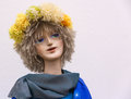 Dummy doll girl with fake hair Royalty Free Stock Photo
