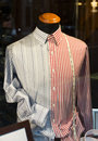 Dummy and shirt in a store Royalty Free Stock Photo